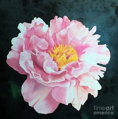 Painting - Peony by Elaine Callahan