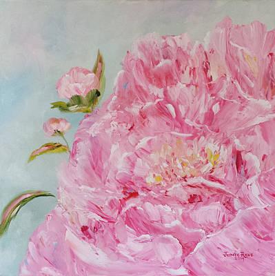 Painting - Peony II by Judith Rhue