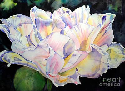 Painting - Peony by Liana Yarckin