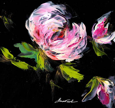 Wall Art - Painting - Peony Love by Alexis Bonavitacola