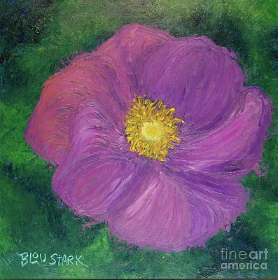 Painting - Peony Love by Barrie Stark