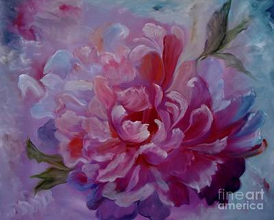Painting - Peony Love by Jenny Lee