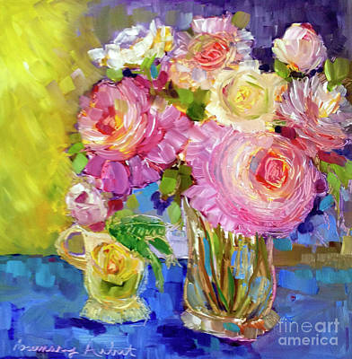 Painting - Peony Love by Rosemary Aubut