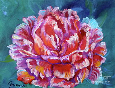 Painting - Peony No. 2 by Jenny Lee