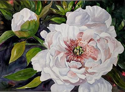 Painting - Peony Pals by Becky Taylor