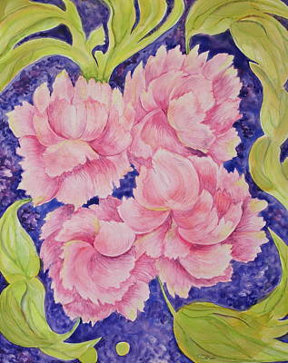 Painting - Peony Passion by Michele Myers