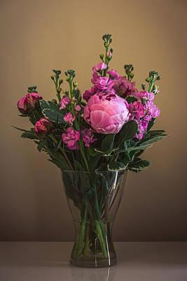 Photograph - Peony Roses by Matt Malloy