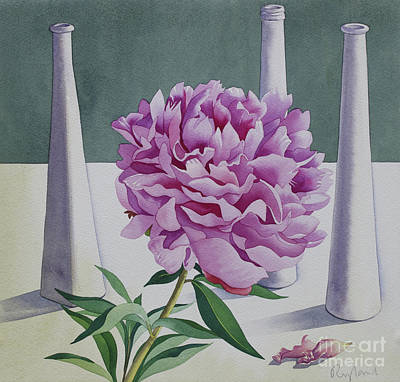 Painting - Peony Still Life by Christopher Ryland