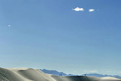 Photograph - People At White Sands 9 by Jeff Brunton