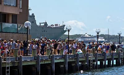 Photograph - People Enjoying Australian Day by Miroslava Jurcik