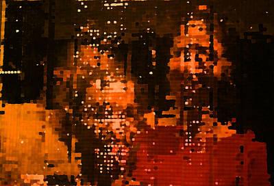 People In Mirror Art Print by Sephora Silva