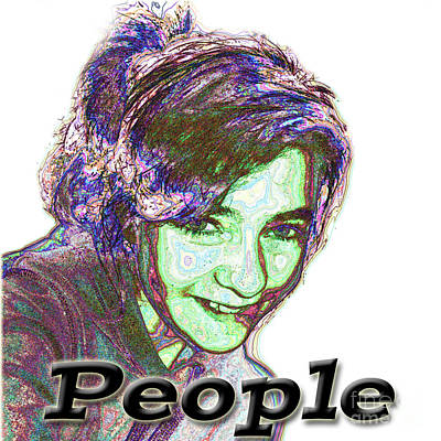 Photograph - People Logo by Debbie Portwood