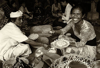 Photograph - People Of Bali 3 by Bob Christopher