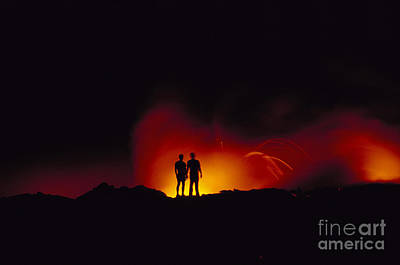 People View Lava Art Print by Ron Dahlquist - Printscapes
