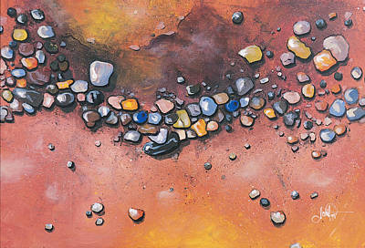 Basin Park Painting - Peoples Conglomerate by Michael Pitt