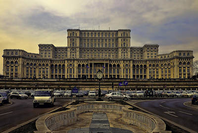 Print featuring the photograph People's Palace by Rob Tullis