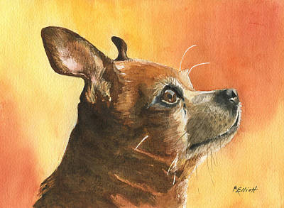 Chihuahua Painting - Pepe by Marsha Elliott