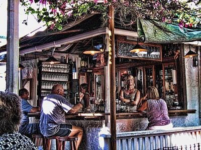 Keys Photograph - Pepes Cafe by Joetta West