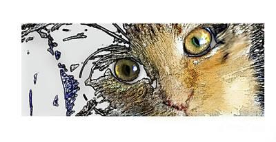 Pepper Eyes Art Print
