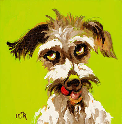 Painting - Pepper by Mary J Russell