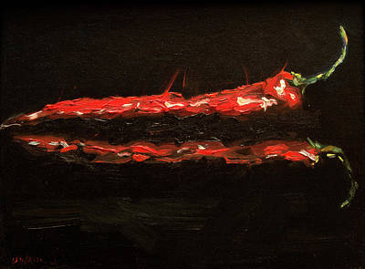 Painting - Pepper Single by Diane Whitehead
