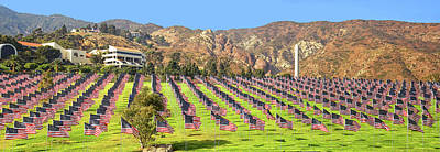 Photograph - Pepperdine's 9-11 Tribute by Lynn Bauer