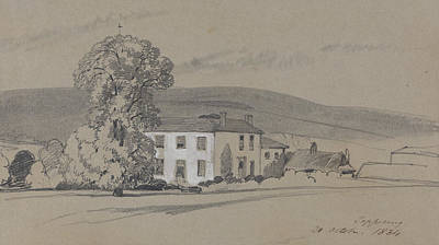 Drawing - Peppering, 20 October, 1834 by Edward Lear