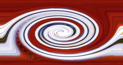 Photograph - Peppermint Twist by Mark Andrew Thomas