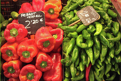 Photograph - Peppers by Bruce