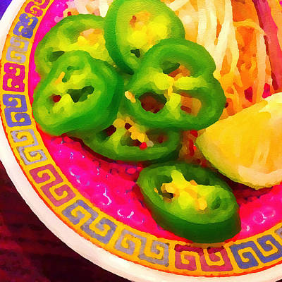 Photograph - Peppers For Pho by Ronda Broatch