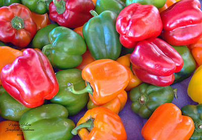 Photograph - Peppers Galore  5106 by Josephine Buschman