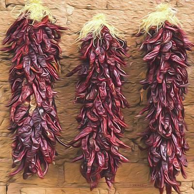 Peppers In Ensenada, Nbr 2a Original