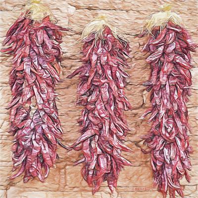 Peppers In Ensenada, Nbr 6a Original