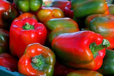 Photograph - Peppers by Michiale Schneider