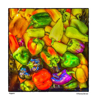 Photograph - Peppers by R Thomas Berner