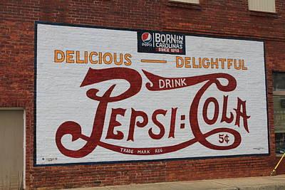 Photograph - Pepsi Born In The Carolinas by Karen Ruhl