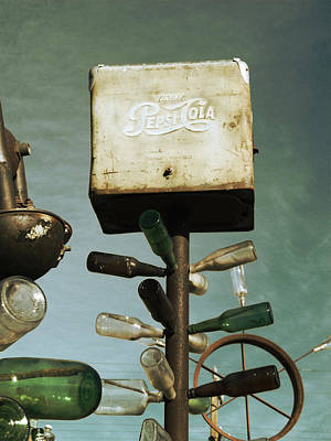 Photograph - Pepsi Bottle Tree - Route 66 by Glenn McCarthy Art and Photography