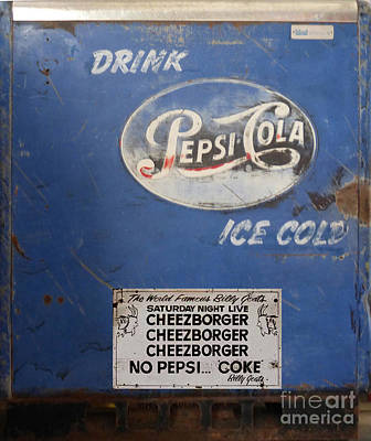 Pepsi Can Photograph - Pepsi Cola 2 by To-Tam Gerwe