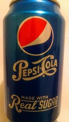 Photograph - Pepsi Cola by Sheila Mcdonald