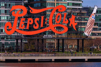 Photograph - Pepsi Cola Sign by Susan Candelario