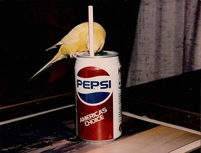 Pepsi Girl Art Print