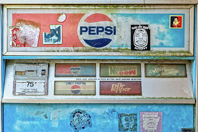 Photograph - Pepsi Machine by Jim Shackett