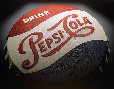 Pepsi Photograph - Pepsi Sign by Bob Nardi