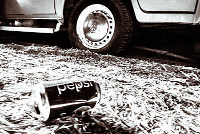 Pepsi Can Photograph - Pepsi by Wade Brooks