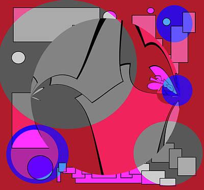 Abstract Seascape Mixed Media - Per Diem by Sir Josef - Social Critic -  Maha Art