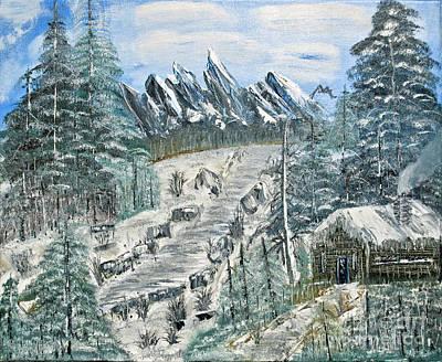 Painting - Per Il Mio Figlio by Joseph Summa