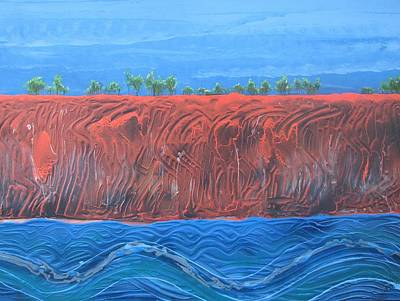 Weipa Wall Art - Painting - Pera by Joan Stratton