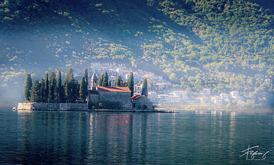 Photograph - Perast Church by Francisco Gomez