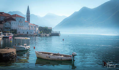 Photograph - Perast Montenegro by Francisco Gomez