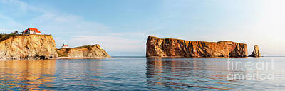 Photograph - Perce Rock At Gaspe Peninsula by Elena Elisseeva